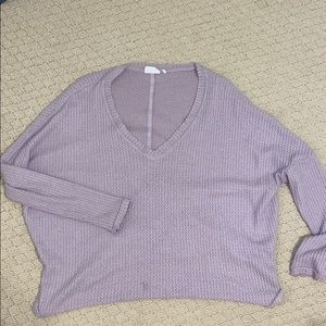 Urban Outfitters Out from under purple sweater